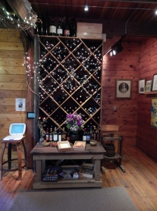 A charming look inside of the Alexis Bailly Winery.
