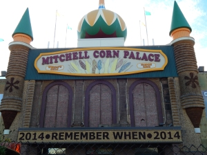 We made it to the Corn Palace.