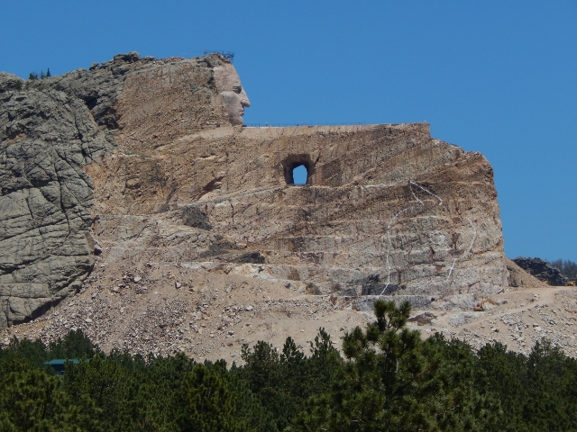 Vacation to see Crazy Horse.