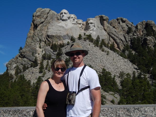 A vacation highlight, Mt. Rushmore.