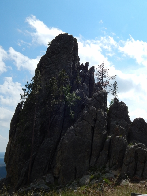 Needles Highway in Custer State Park.
