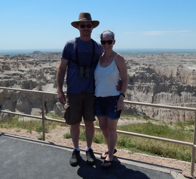 Fifth Anniversary trip to South Dakota