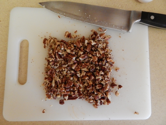 chopped pecans or walnuts