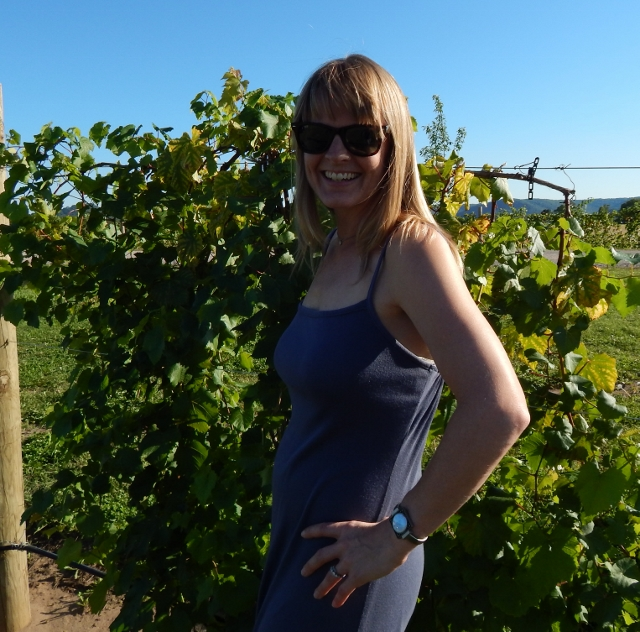 Hanging out in the Elmaro vineyards.