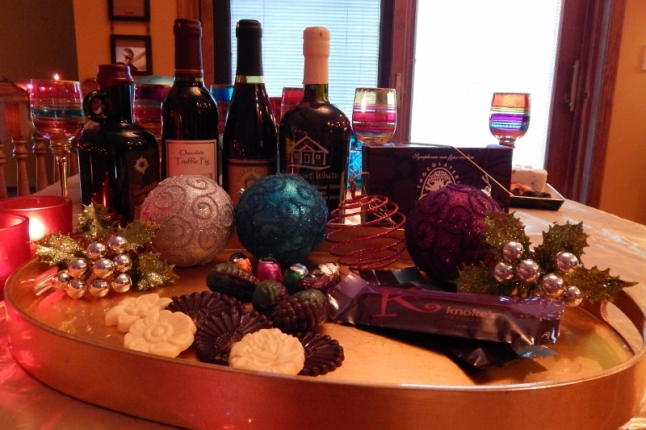 Save Room for Dessert; wine, cheese, chocolate