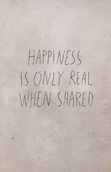 happiness-is-only-real-when-shared-haiku