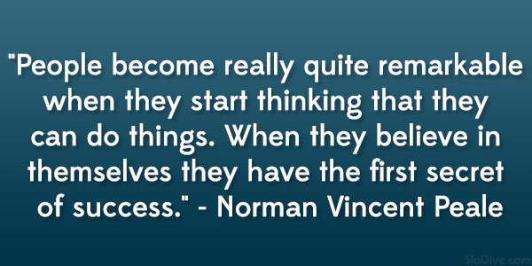 you are what you think haiku Norman Vincent Peale
