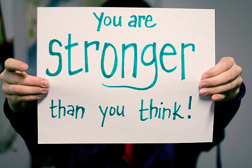 Stronger than you think haiku