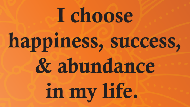Happiness Success Abundance Haiku