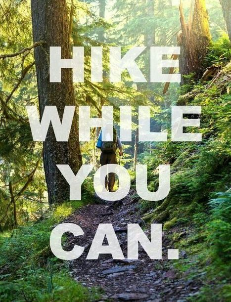 hike while you can haiku