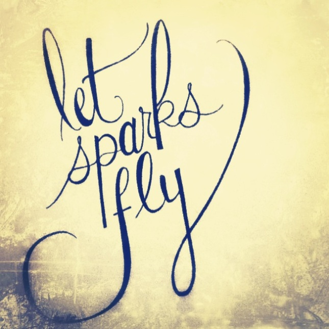 let sparks fly haiku
