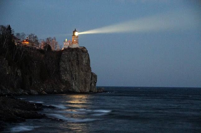 split rock lighthouse haiku